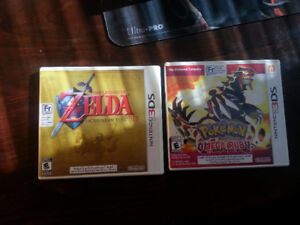 Ocarina of Time 3DS and Pokemon Omega Ruby 3DS