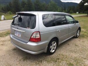 2002 JDM RHD Honda Odyssey 58,000 orig kms!