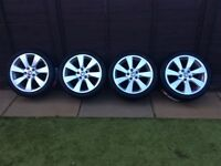 "BRAND NEW VAUXHALL 18"" ALLOYS AND BRAND NEW TYRES"