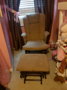 Rocking chair with rocking foot rest price is OBO