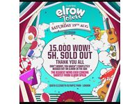 Elrow Town Saturday 19th August £95 (4 Available)