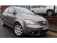 2005 Volkswagen Golf Plus 2.0 TDI PD GT 5dr Hatchback, FULL SERVICE HISTORY, £1,695 p/x welcome