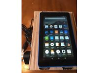 Kindle Fire HD Blue edition BOXED
