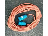 Camping Caravan Electric Hookup Extension Lead Cable