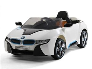Brand New Licensed 12V BMW I8 Electric Child Ride-On Toy Car wit