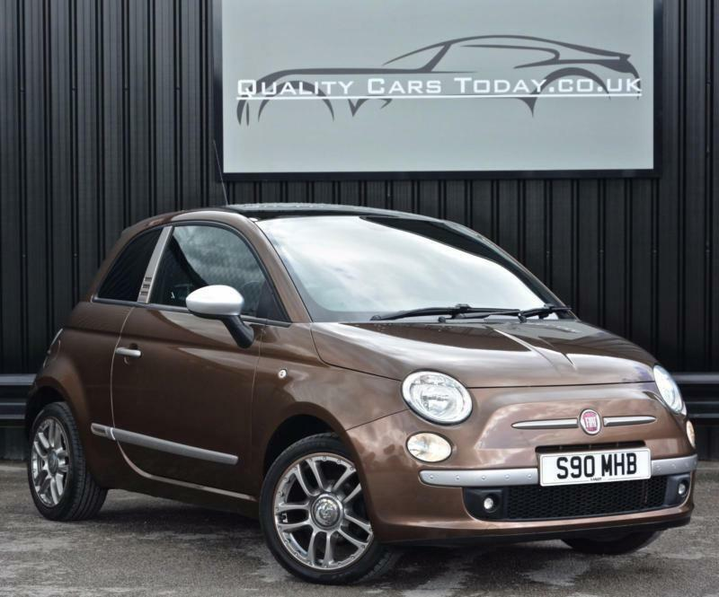 fiat 500 1 2 sport 39 500 by diesel 39 limited edition rare colour pan roof in sheffield. Black Bedroom Furniture Sets. Home Design Ideas