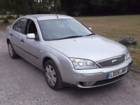 2005 FORD MONDEO LX 2.0 AUTO, MOT JULY 2018, FSH, ONLY 51,000 MILES, ONLY £595