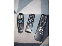 Three Remote Controls
