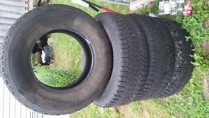 17 Inch Winter LT Truck Tires