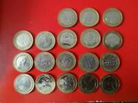 Circulated £2 coins