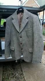 Harris tweed gentleman's jacket