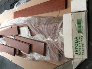 """3"""" Natural Jatoba Mixed Length Planks"""