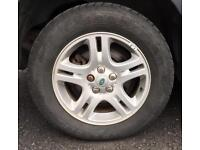 Genuine Land Rover Discovery 3 Alloy wheels and Tyres