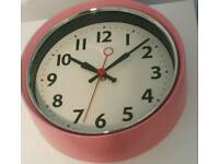 New 1950s Style Wall Clock