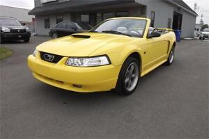 2002 Ford Mustang GT CONVERTIBLE  124 347 KM SEULEMENT !