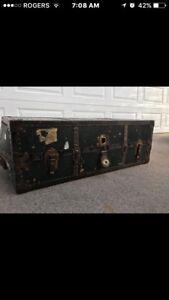 Antique Steamer Trunk $225.00