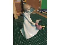 Nao Disney Figurine By Lladro. Minnie and Friend