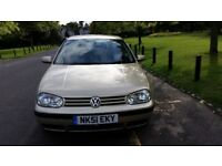 2001 Volkswagen Golf 1.6 SE 5dr Warranted Low Mileage Full service History HPI Clear @07725982426 @