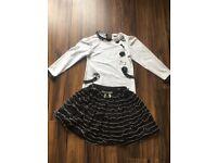 Sarah Louise skirt and top