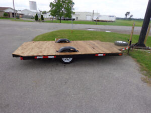 Trailer with total rebuild-everything new-- recycledgear.ca