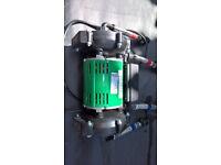 Salamander electric shower Pump twin