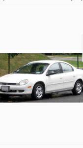 2000 Chrysler Neon LE Sedan