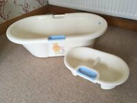 Winnie the Pooh Baby Bath and Top & Tail Basin