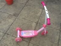Used Disney Princsses and Fireman Sam scooters are £10each-no damage,just used