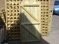 6X3 FULLY TREATED GARDEN GATE OR MADE TO SIZE REQUIRED