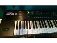 Roland juno-D keyboard/synth
