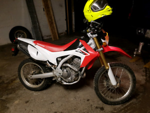 2013 Honda 250cc with ownership