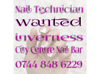 Nail Desk to let in busy Inverness City Centre Salon