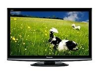 panasonic viera txl32s20 lcd screen. good tv. fully working order. free view build in