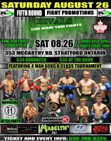 FIFTH ROUND FIGHT PROMOTIONS:LIVE MUAY THAI FIGHTS