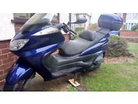 Motor bike Yamaha majesty 400 blue good runner