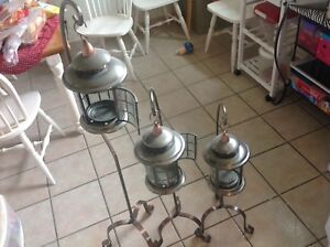 Candle holders X3