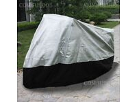 Motorcycle cover size large brand new £10 cost £25.