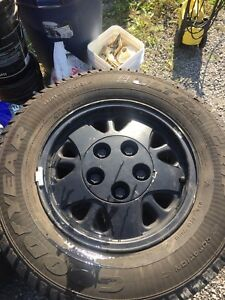215/70/15 Tires on 5 bolt mag rims