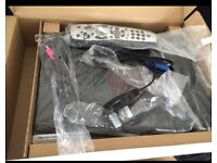 Sky Box with HD and all leads