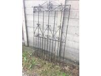 tall side entrance gate £20