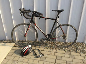 Road Bike Louis Garneau Axis 5 (XL) w/ Helmet, Lock, etc...