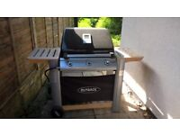 Home clearance- Outback Spectrum 3 Burner Hooded Gas BBQ less than 1 year old