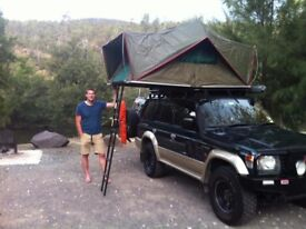 ECHO 4x4 Roof top tent 1.6 (3 man/family) Military Grade
