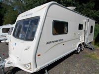 Bailey Senator Carolina Series 6 2009 6 Berth Triple Bunks Touring Caravan