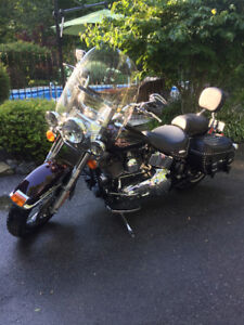 2005 Harley Davidson Heritage Softail with 7,897KM