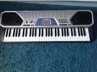 61 key electric keyboard