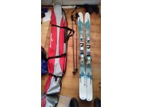 Rossignol Bandit B78 Womens Skis with Saphir 110 TPI Bindings, ski poles and carry bag. London