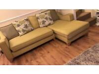 DFS Corner sofa & cuddle chair with docking station