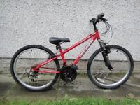Boys bikes to suit age 9 to 12 years old, 24 inch wheels £50 Each