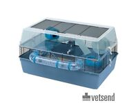 Free hamster, with extra large Ferplast Duna cage and accessories.